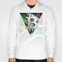 south africa Hoodies featuring bitcoin South Africa by seb mcnulty