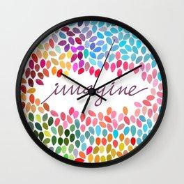 Imagine [Collaboration with Garima Dhawan] Wall Clock