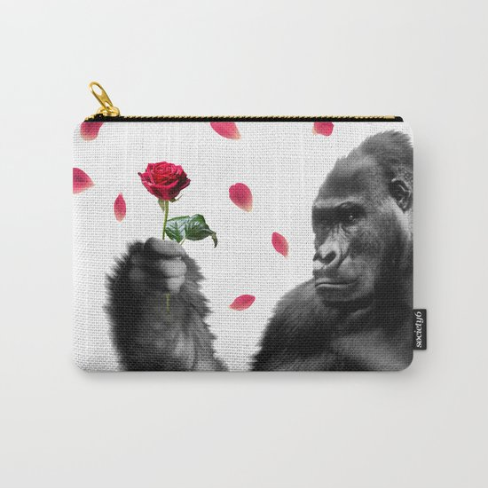 Gorilla In Love Carry-All Pouch