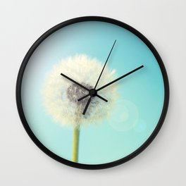 Wish Flower 2 Wall Clock