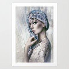 Opal Woman Art Print
