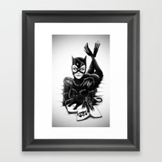 Catwoman #2 Framed Art Print