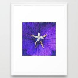 Vein rain Framed Art Print