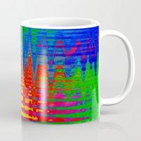 chaos Mugs featuring Chaos by Geni