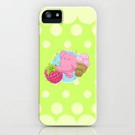 Raspberry Fluff iPhone Case