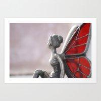 Whistful Fairy Art Print