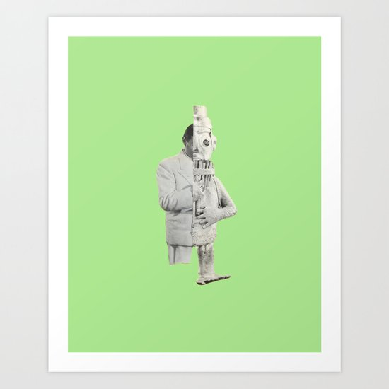 Future Primitive VI Art Print