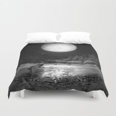 Somewhere You Are Looking At It Too Duvet Cover