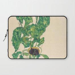"Egon Schiele ""Sonnenblumen"" Laptop Sleeve"