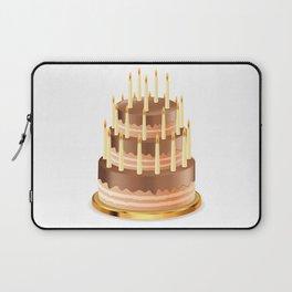 Big chocolate cake Laptop Sleeve