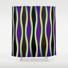 Vibration of Violet Shower Curtain