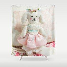 Darling Dog Shower Curtain