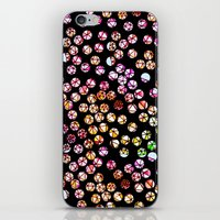 polka dots iPhone & iPod Skins featuring Polka Dots by Take F1ve