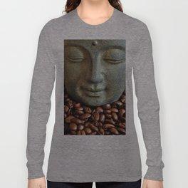 Coffee Buddha 3 Long Sleeve T-shirt