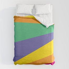 Color lighting Duvet Cover
