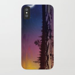Day And Night - Painting iPhone Case