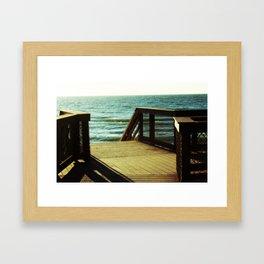 Seaside Dreaming Framed Art Print
