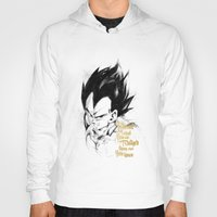 dragonball z Hoodies featuring Dragonball Z - Pride by Straife01
