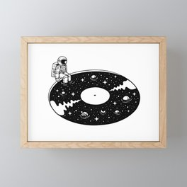 Cosmic Sound Framed Mini Art Print