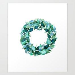 Dress Blues Botanical Art Print