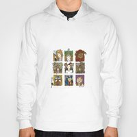 labyrinth Hoodies featuring Labyrinth by Steven Learmonth