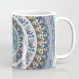 Frenchie Yoga Medallion Coffee Mug