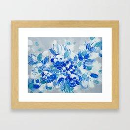 Wedding Bell Blues Framed Art Print