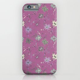 Meadow flowers iPhone Case