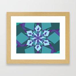 Crazy Mandala Framed Art Print