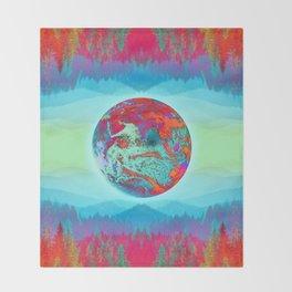 Earth Throw Blanket