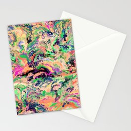 fiery marble 009 Stationery Cards