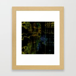 Deluminated Framed Art Print