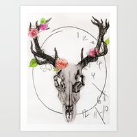 hannibal Art Prints featuring Hannibal by Ashley Glass