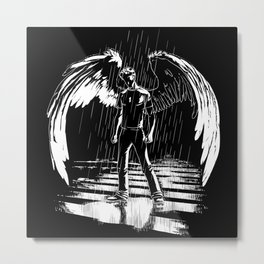 Urban Angel Metal Print