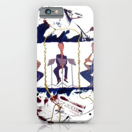 MOZART:  Divertimento for three Basset Horns     by Kay Lipton iPhone Case