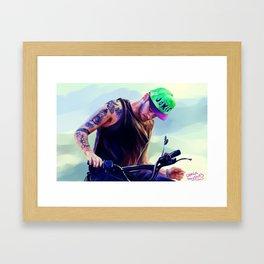 the joker Framed Art Print