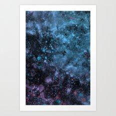 Cell Stem Art Print