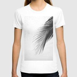 Palm Leaf Black and White T-shirt