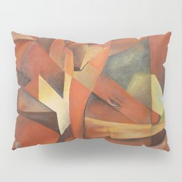 Foxes - Homage to Franz Marc (1913) Pillow Sham