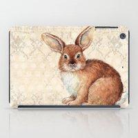 rabbit iPad Cases featuring Rabbit by Patrizia Ambrosini