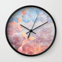Magic Sky Cubes Wall Clock