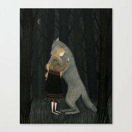 Lupine Friend Canvas Print