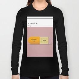 adderall xr 30mg art Long Sleeve T-shirt