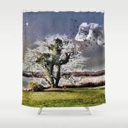 SAVE OUR DREAMERS Shower Curtain
