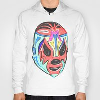 mexico Hoodies featuring MEXICO by MANDIATO ART & T-SHIRTS