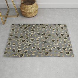 Leopard Animal Print Glam #4 #shiny #pattern #decor #art #society6 Rug