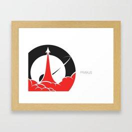Praxus Logo Framed Art Print