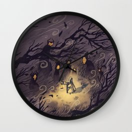 Could It Be The Wind? Wall Clock