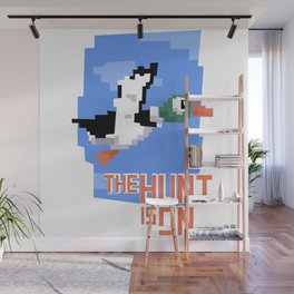 The Hunt is On Wall Mural