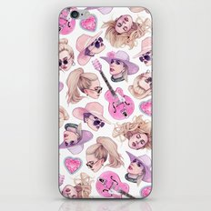 Joanne Vibes iPhone & iPod Skin